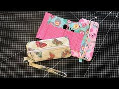 Double Sided Zipper Pouch - YouTube
