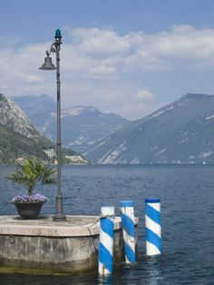 Harbour Mouth, Limone, Lake Garda, Lombardy, Italy