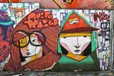 Vila Madalena —One of the best neighborhoods for endless graffiti
