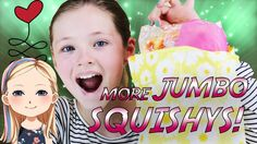 New Squishy Package With JUMBO's - Let's Squish!