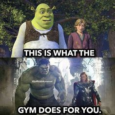 Only if you spend years in gym or take steroids - - More memes, funny videos and pics on Marvel Jokes, Funny Marvel Memes, Dc Memes, Funny Comics, Memes Humor, Funny Harry Potter Memes, Avengers Memes, Really Funny Memes, Crazy Funny Memes
