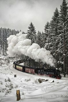 The Snow train, Black Forest Germany