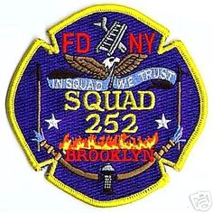 Fire DEPARTMENT fighter fighting Atlanta Fire Squad patch skull Georgia hazmat