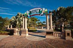 The entrance to Barnett Family Park in #Lakeland #Florida #CentralFL #Polk