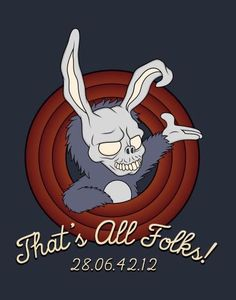 That's All Folks! by Woah_Jonny Thats All Folks, All Things, Disney Characters, Fictional Characters, Wallpaper, Drawings, Movies, Movie Posters, Google Search