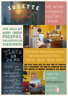 Bij Suzette Catering kunt u luisteren naar de verhalen van John Toxopeus, schrijver van Vrijstad Vianen!