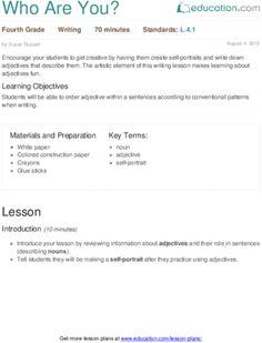 4th Grade Grammar Lesson Plans | Education.com