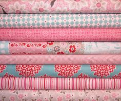 Riley Blake Fabric  Millie's Closet Bundle by spiceberrycottage, half yard bundle $37.50