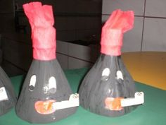 Reciclagem: Lembrancinha para o Dia do Folclore feito com garrafa pet