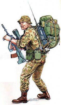 Australian SASR - pin by Paolo Marzioli Military Love, Military Art, Military History, Military Personnel, Military Uniforms, Military Motivation, Classic Army, British Uniforms, Military Drawings