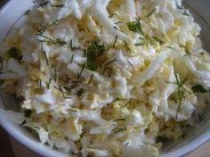 Салат «Простая нежность»(китайская капуста, яйца, сыр, майонез)