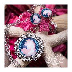 Sötétkék unikornis ékszer szett Charmed, Bracelets, Jewelry, Fashion, Charm Bracelets, Jewellery Making, Moda, Jewerly, Bracelet