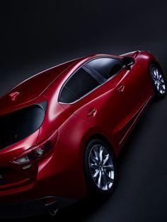 新型マツダアクセラ / Mazda3