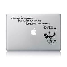 Amazon.com: Disney Quote Macbook Laptop Decal Vinyl Sticker Apple Mac Air Pro Laptop Sticker: Computers & Accessories