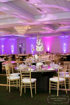 With your own personal touches, our ballroom can transform into any style or theme you envision for your big day!