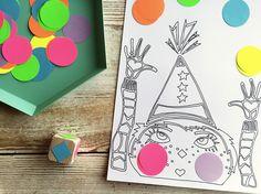 WLKMNDYS // Lucky Friday Printables // Fliegende Bälle #wlkmndys #luckyfridayprintables #printable