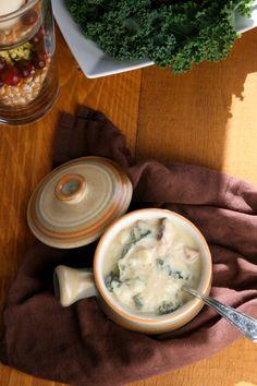 Ham, potato and squash soup