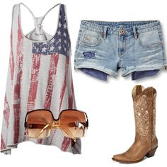 Country Summer... just right for music festivals!