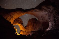 Double Arch, Arches National Park, Utah, by Jeffrey Stylos