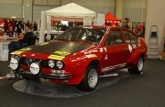 Alfetta GTV ready for some track action!