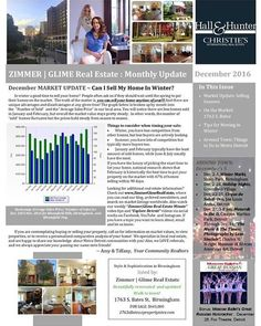 Check Out P  Of The ZimmerGlime Real Estate January Newsletter