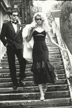 Claudia Schiffer photographed by Arthur Elgort for Valentino, 80s Fashion, Fashion Models, High Fashion, Vintage Fashion, Valentino 2017, Valentino Couture, Lauren Hutton, Claudia Schiffer, Christy Turlington