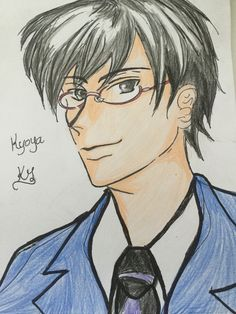 Sorry I'm a day late but here's kyoya