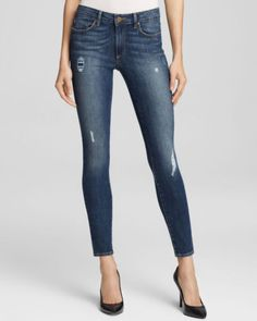 ef9895cb46972 $239 NEW Paige Denim Bloomingdale's Exclusive Hoxton Ultra Skinny  Destructed 31 | eBay. Paige Denim JeansBlue ...