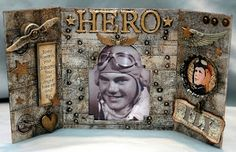 CREATIVITY IS CONTAGIOUS: EVERYBODY NEEDS A HERO September 2012 http://candycreates.blogspot.com/2012/09/everybody-needs-hero.html