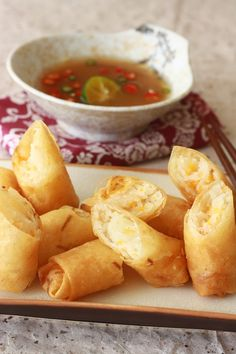 vietnamese tamarind dipping sauce for fried spring rolls