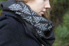 Folk Scarf Photo Shoot | Liucija Textiles