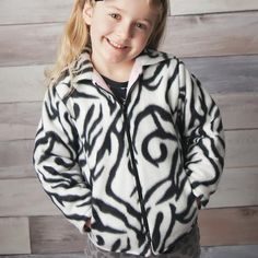 Childrens Hooded Jacket Pattern Boys Girls 2 to 12 by tiedyediva, $7.95
