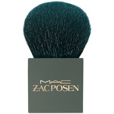 Mac Zac Posen 182 Buffer Brush ($54) ❤ liked on Polyvore featuring beauty products, makeup, makeup tools, makeup brushes, beauty, cosmetics, makeup brush, tools, filler and no color