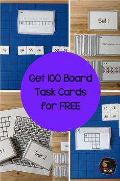 The 100 board is used to help students learn numbers to 100 but did you know you can do a lot more than that with it?  The simplicity of this board hides the variety of learning you can do with it.  Commonly children empty out the tiles that come with the hundred board and put them onto the correct place on the board using a control board to check their work. However with a couple of creative tweaks you can also use it to help teach place value and encourage mathematical thinking. Montessori Math, Montessori Elementary, Montessori Materials, Preschool Classroom, Elementary Math, Classroom Ideas, Learning Place, Student Learning, Primary Teaching