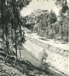 1940 ~ Illissos river in Athens