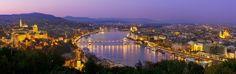 Budapest, al ciudad triple, desde el monte Gellert