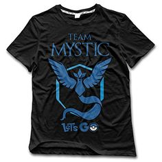 Pokemon Go Team Mystic Blue Shirt Pokemon Go Team Mystic, Cool T Shirts, Men Shirts, Shirt Designs, Mens Tops, Shopping, Mass Market, Black, Weird