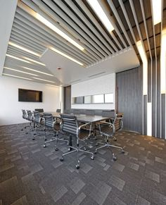 Arranged office  | conference room | | meeting room | #meetingspace #design  http://www.ironageoffice.com/