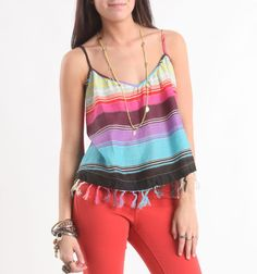 Billabong Dancing Day Tank. The top is so cute!!