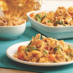 Mix and Match Creations™ Recipes:  Cheesy Chicken Broccoli Bake
