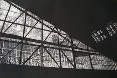 Trimming, Gare du Nord, aquatinte,30 x 20 cm