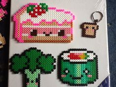 Food hama perler beads by xXLuciphelXx on deviantART