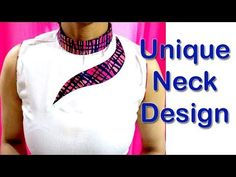 Unique Neck Design / Latest Beautiful Neck Design Cutting and Stitching for Kurti / Kameez - YouTube