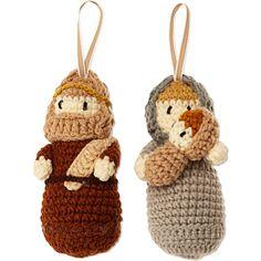CHRISTMAS Knitted nativity set
