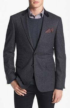 7cb3c866fd72 BOSS HUGO BOSS  Rayford  Trim Fit Blazer available at  Nordstrom Hugo Boss