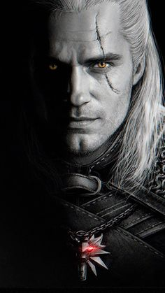 The witcher Geralt, a mutated monster hunter, struggles to find his place in a world where people often prove more wicked than beasts. Based on Andrzej Sapkowski's Witcher Saga. The Witcher Geralt, Witcher Art, Witcher 3 Wild Hunt, Ciri, Witcher Wallpaper, The Witcher Books, Free Tv Shows, Vampire, White Wolf