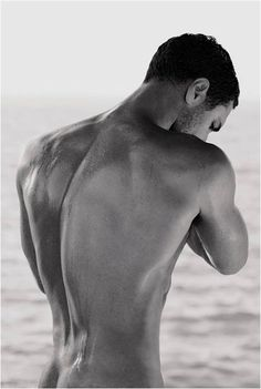 Love a man's back and shoulders