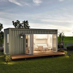 Do You Want 2 Build A Container Home http://jaguarcontainers.com/container-homes/ #tinyhome #shippingcontainerhomes #grannyflats