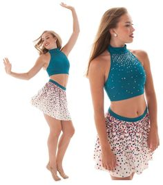 How to Rhinestone a Dance Costume or Skating dress: Video tutorial!