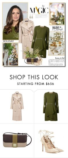 """Time of peace and joy!!"" by lilly-2711 ❤ liked on Polyvore featuring Martin Grant, Elie Saab, Manurina, Gianvito Rossi, ElieSaab, NinaDobrev, holidaystyle, GianvitoRossi and holiday2015"